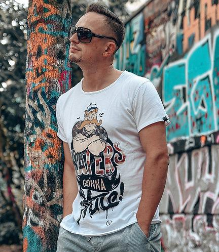 Boom Bap Hate T-Shirt weiß