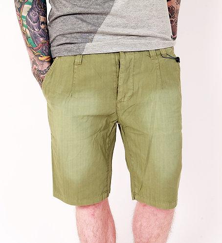 Humör Nieder Chino Shorts grün