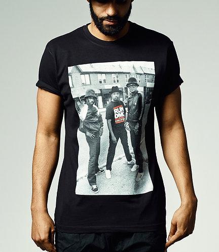 Run DMC Kings Of Rock T-Shirt schwarz