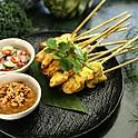 Chicken Satay(4 pcs)