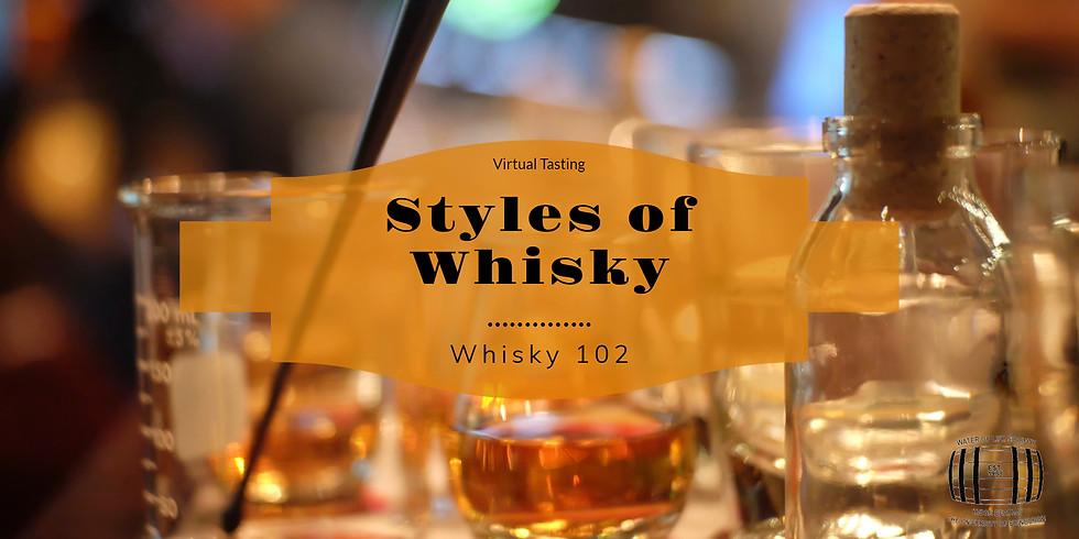 Whisky 102 - Types of Whisky