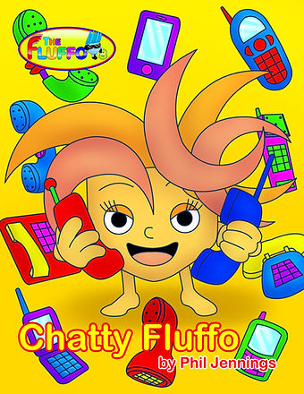 Chatty Fluffo Picture Book & eBook