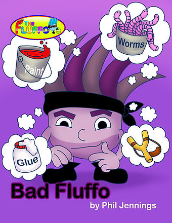 Bad Fluffo Picture Book & eBook