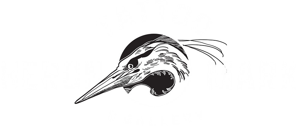 Heron Mark Tattoo Logo