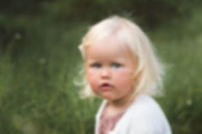 Barneportrett av fotograf Gitte Boge