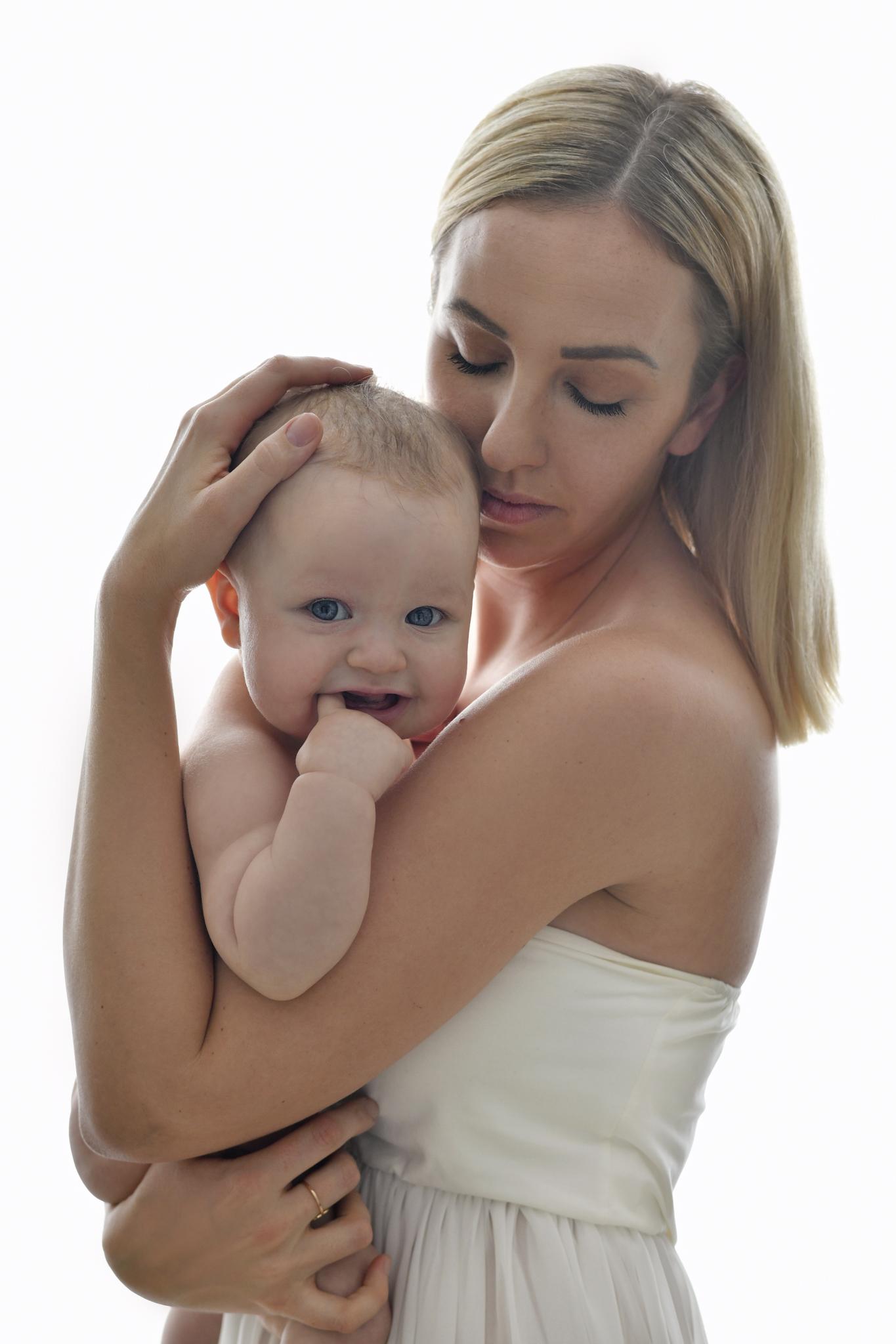 Mor og barn bilde