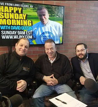 Ron Reed, Long Island's premier résumé writer with David Gussin on WLINY in Lake Grove