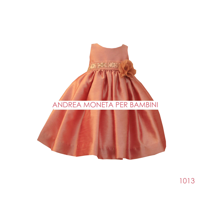 1013 Fb Vestido Rosa Viejo Bebe Andrea M
