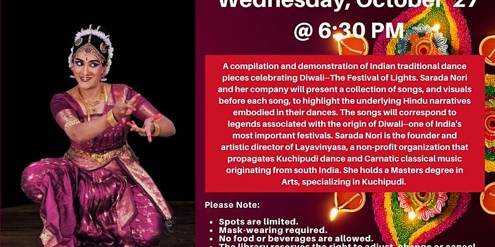 Diwali - A feast of lights at the Bristol Public library