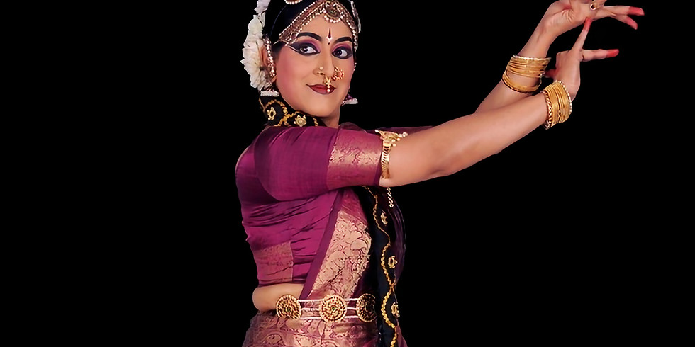 A Kuchipudi performance to Indo-Colonial melodies hosted by Artists of World Peace