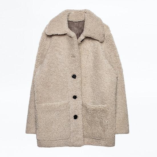 ZADIG + VOLTAIRE Shearling Coat