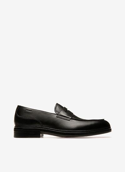 BALLY UK Neffer Black Leather Loafers