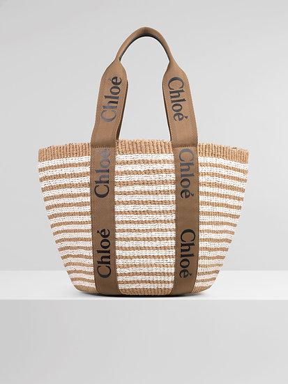 CHLOÉ UK Large Woody Basket