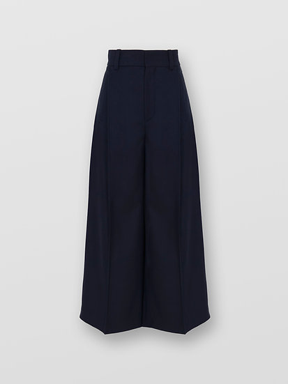 CHLOÉ Cropped  Women Trousers Abyss Blue