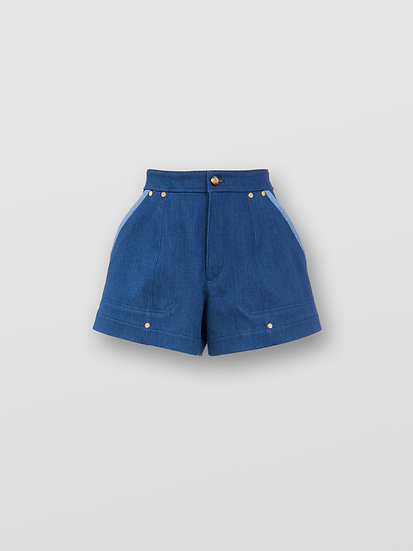 CHLOÉ  Women Denim Shorts