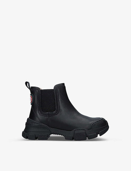 GUCCI Girls Leather Chelsea Boots at Selfridges