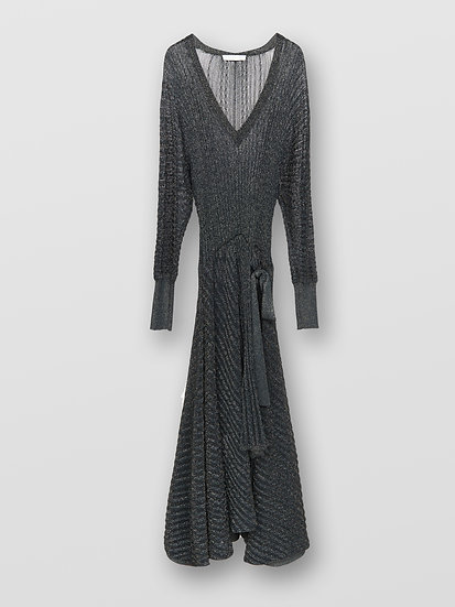 CHLOE V-Neck Evening Dress