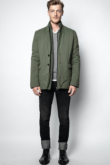 ZADIG & VOLTAIRE Men Green Parka