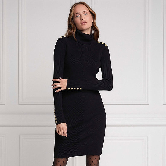 HOLLAND COOPER Black Jumper Dress