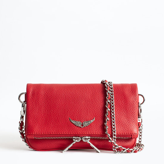 ZADIG + VOLTAIRE Red Clutch
