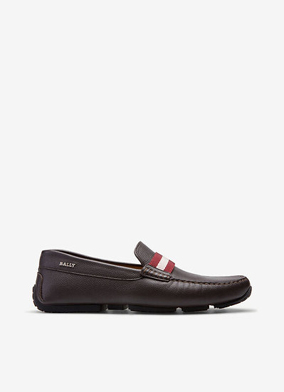 BALLY UK Pearce Brown Loafers