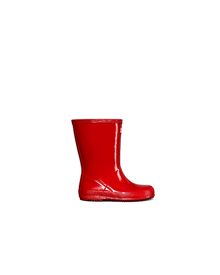 HUNTER UK Original Kids First Classic Gloss Wellington Boots