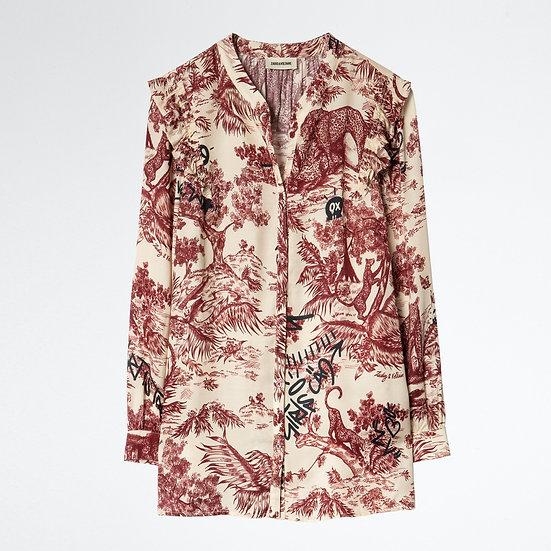 ZADIG + VOLTAIRE Women Print Blouse