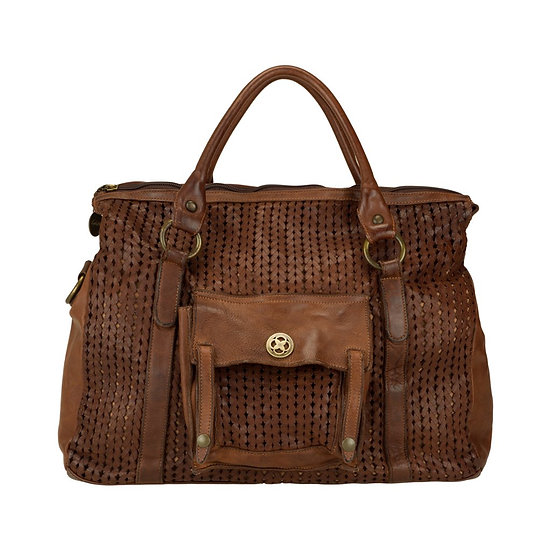 LUCIANO GELISIO Tanned Leather Bag