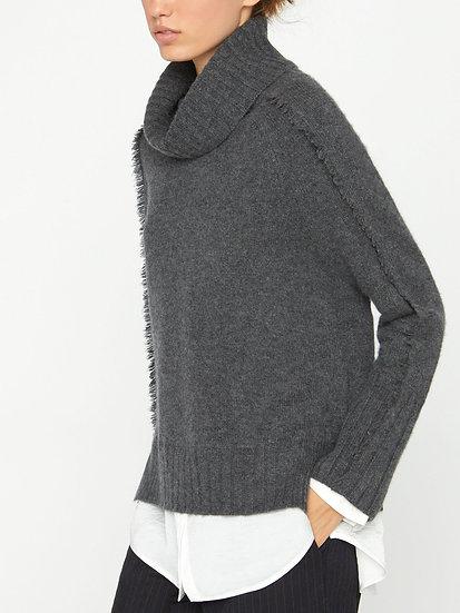 BROCHU WALKER Wool & Cashmere Roll Neck Jumper
