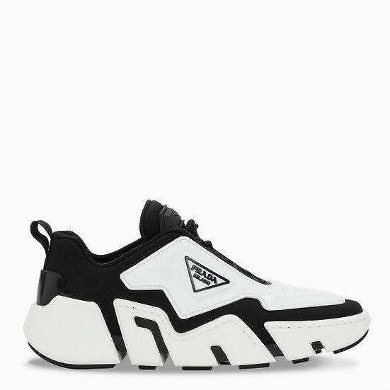 PRADA Black & White Sneakers