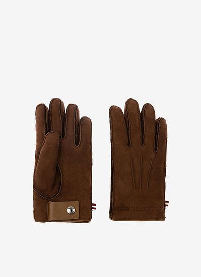 BALLY Men Shearling Gloves
