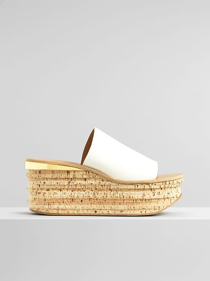 CHLOÉ Camille Wedge Mule