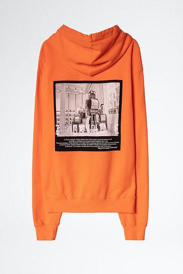 ZADIG + VOLTAIRE Storm Photoprint Sweatshirt