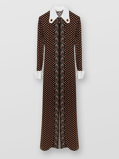CHLOÉ Retro Printed Dress