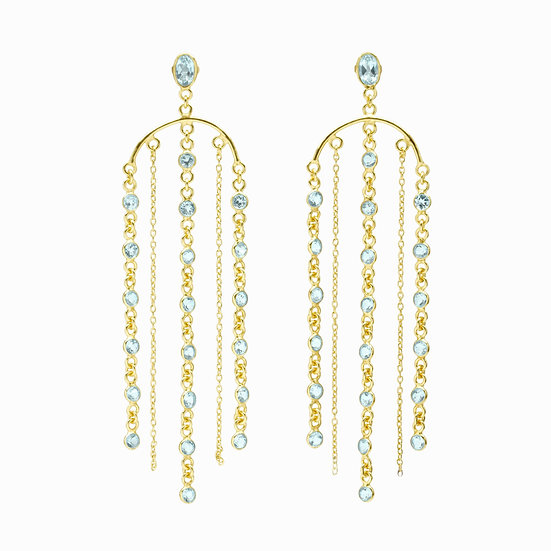 DINARI JEWELS Waterfall Earrings