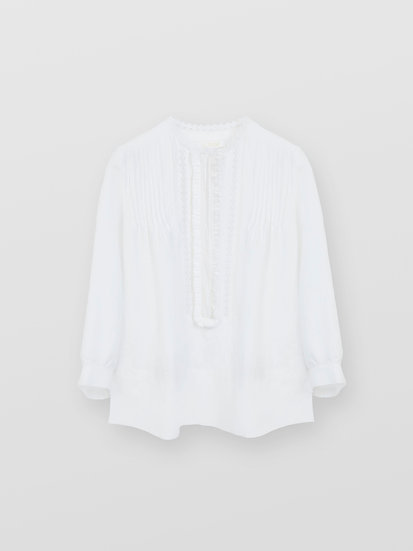 CHLOÉ Smock blouse Women's Iconic Milk