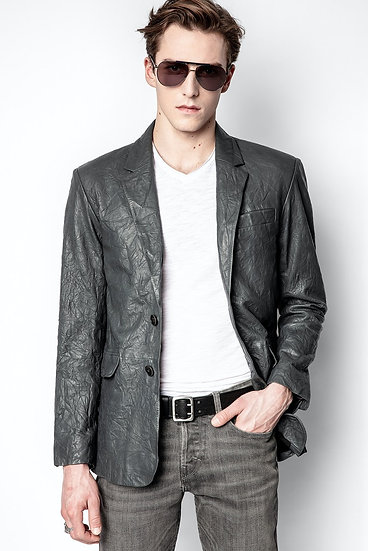 ZADIG + VOLTAIRE Men Leather Jacket