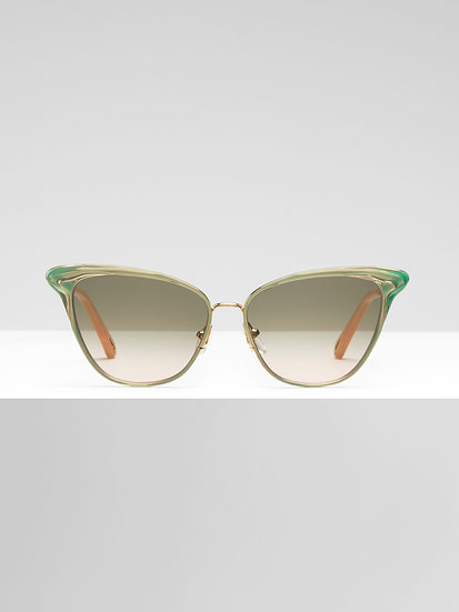 CHLOÉ Felicy Women Turquoise Sunglasses