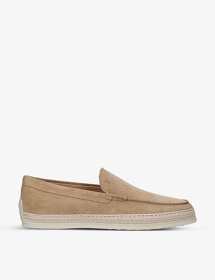 TODDS Suede Loafers
