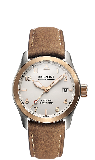 BREMONT SOLO 37 Rose Gold