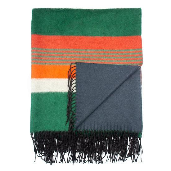 DORIA  & DOJOLA Silk & Cashmere Blanket