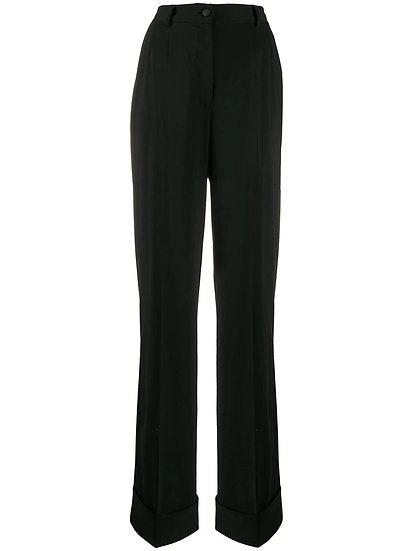 DOLCE & GABBANA  Classic  Black Trousers