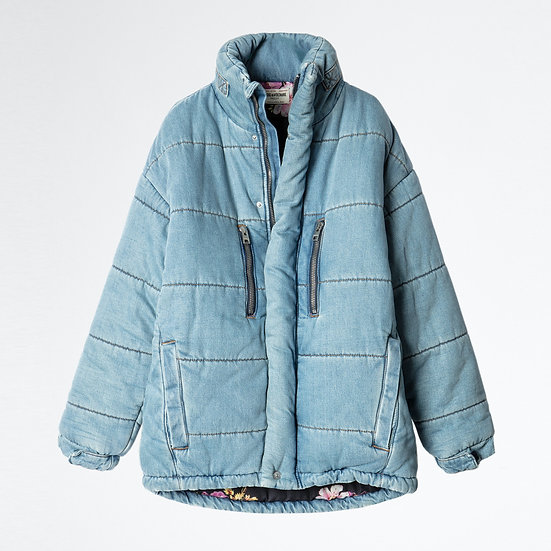 ZADIG + VOLTAIRE Denim Eco Jacket.