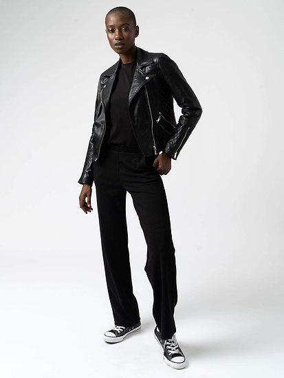 SAINT + SOFIA Classic Black Trousers