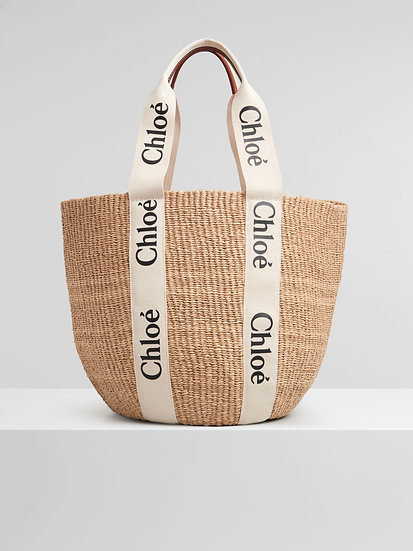CHLOÉ Large Woody Basket