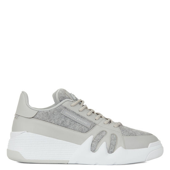 GIUSEPPE ZANOTTI UK Talon Grey Woman Trainers