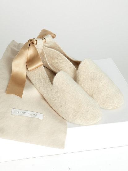 BROCHU WALKER Cashmere Slippers