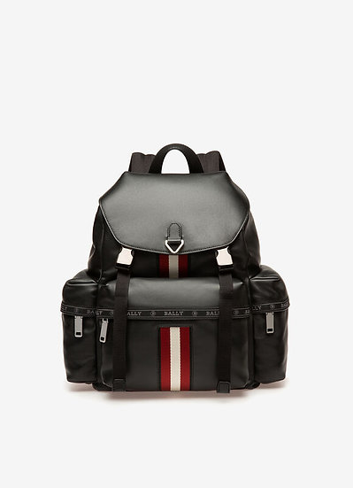 BALLY Howie Leather Backpack