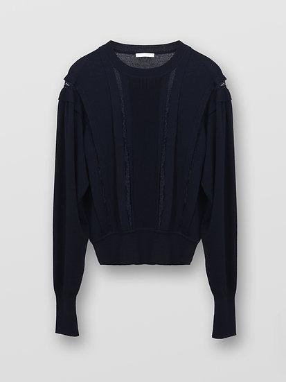 CHLOE Embellished Wool Jumper