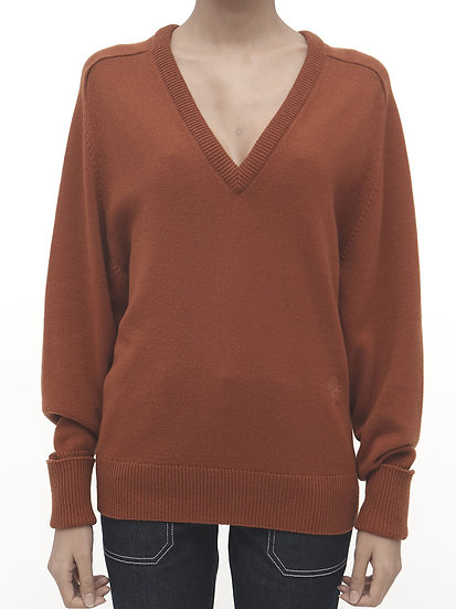 CHLOE Wildwood Brown Pullover
